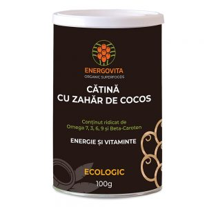 Catina ecologica deshidratata cu nectar de  cocos 100g