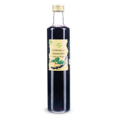 Sirop Ecologic de Aronia si Lavanda Aromela 250 ml